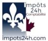 Logo Impots 24h Comptabilité par Celyne Lessard